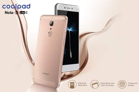 Android Nougat, Chinese Smartphone, Coolpad Note 5 Lite C, Coolpad Phone, New Gadgets, Smartphone Launch