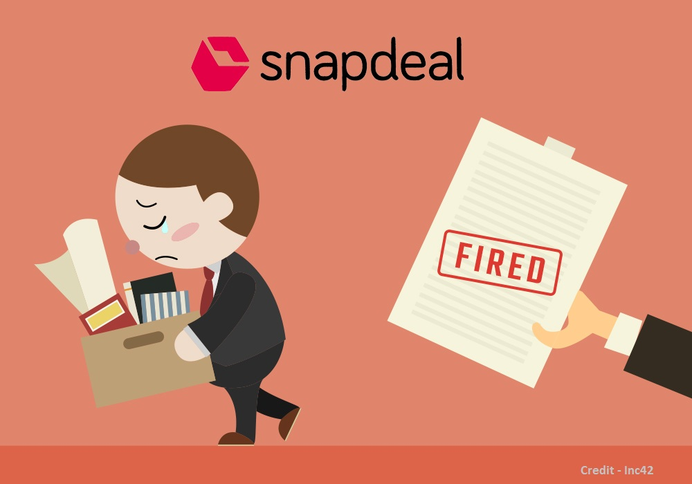 Rohit Bansal,Kunal Bahl,Snapdeal,Layoff, Mass Termination by Snapdeal,Job cuts in Snapdeal,Snapdeal fire employees
