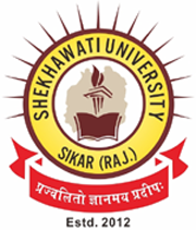 Image result for shekhawati university logo