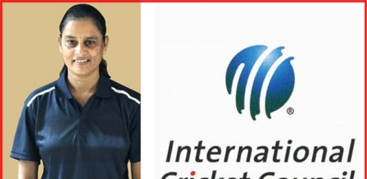 icc women-refery gs lakshmi